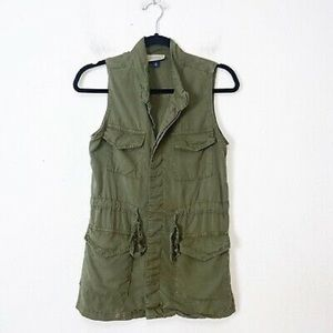 Universal Thread Green Military Vest